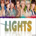 عکس لیریک آهنگ Lights از BTS (ورژن ژاپنی) آلبوم ژاپنی MOTS: 7 THE JOURNEY
