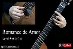عکس آموزش ملودی Romance-de-Amor