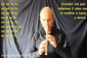 عکس آموزش آهنگ میراکلس برای فلوت