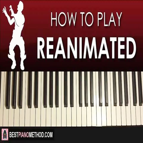 HOW TO PLAY - FORTNITE - REANIMATED Dance Music (Piano ...