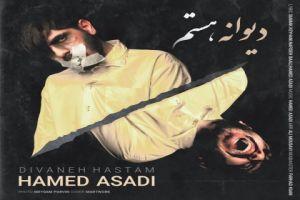 عکس دانلود آهنگ جدید حامد اسدی دیوانه هستم